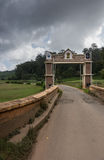 Side gate at Wellington Cantonment. Royalty Free Stock Image