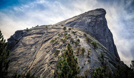 The Side of Half Dome stock images