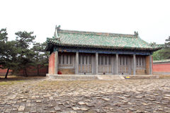 Side hall in the Eastern Royal Tombs of the Qing Dynasty, china.  royalty free stock photos