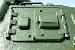 Side hatch of the German T-3 World War II Stock Images