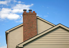 Side of House Royalty Free Stock Photography