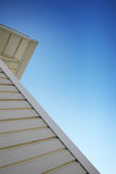 Side of house. Siding on the side of the house Stock Image