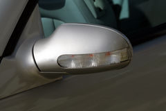 Side light. On a mercedes Stock Images