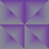 Side line half diamond effect seamless pattern Stock Image