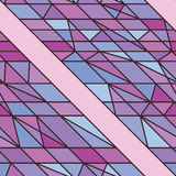 Side line purple seamless pattern Stock Photography