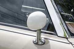 Side mirror retro car Stock Image