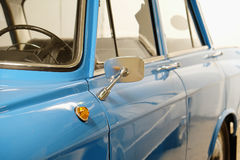 Side mirror vintage Soviet car Stock Photo