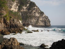 Side of Nusa Penida in Bail , Indonesia stock photos