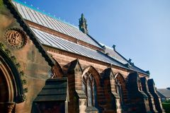 Free Side Of The Church And Carvings Royalty Free Stock Images - 142895029