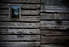Side of old barn Royalty Free Stock Image