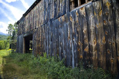 Side of Old Barn Royalty Free Stock Photography
