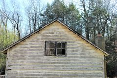 Side of an outbuilding Stock Photo