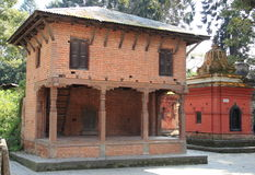 In Side Of Pashupatinath Temple. Stock Photo