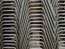 Side of Pipe bending forming Stock Image