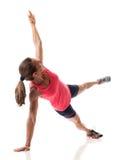 Side Plank stock photo