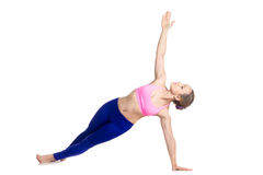 Side Plank Pose Royalty Free Stock Photos