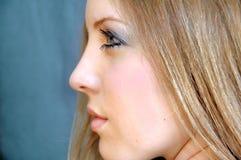side profile Stock Image
