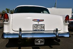 Side profile of a 1955 Chevrolet Stock Photography