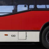Side of public bus Stock Images