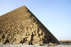 Side of pyramid of giza cario Egypt Royalty Free Stock Image