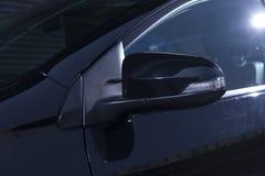 Side rear-view mirror Stock Photos