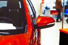 Side rear-view mirror on Stock Photos