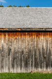 Side of Restored Bunkhouse Royalty Free Stock Photo