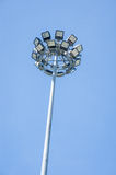 Side road light lamp Stock Photo