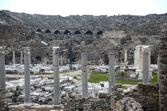 Side ruins in Turkey Stock Photos