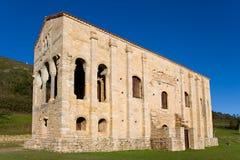 Side of Santa Maria del Naranco Royalty Free Stock Photography