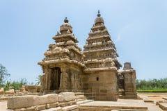 Shore temple at Mahabalipuram, Tamil Nadu, India. The side of the Shore temple at Mahabalipuram, Tamil Nadu, India Stock Images