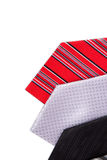Side by Side Ties Stock Photography