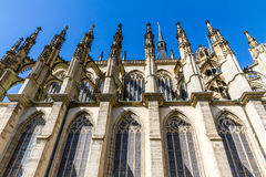 Side Of St.Barbara's Church (Cathedral)-Kutna Hora Stock Images