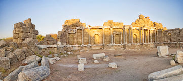 Side State Agora Ruins 01 Royalty Free Stock Photography