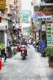 Side street in Ho Chi Minh City Stock Image