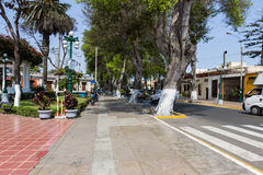 Side street in the Main Square, barranco, Peru Stock Images