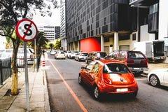 Street scene in Cape Town stock image