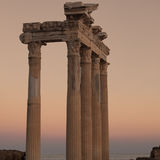 Side Temple of Apollo 02 Royalty Free Stock Photos