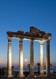 Side Temple of Apollo 08 Stock Photo