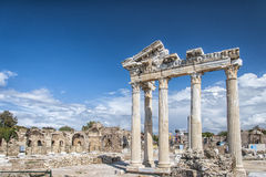 Side Temple of Apollo 21 Royalty Free Stock Photo