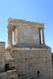 Side of temple of Athena Nike Royalty Free Stock Image
