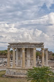Side Temple of Tyche Stock Images