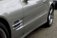 Side vents Royalty Free Stock Photo