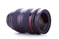 Side view of a 24-70 zoom lens Royalty Free Stock Photos