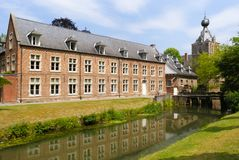 Side view of Arenberg castle at leuven Belgium stock photo