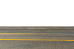 Side view of asphalt road Royalty Free Stock Image