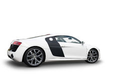 Side view of Audi R8 sports car Stock Image