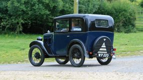Side view of an Austin 7 Royalty Free Stock Images