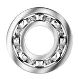 Side view of ball bearing Stock Photos
