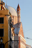 Side view of Basilica di Sant Antonio da Padova Royalty Free Stock Images